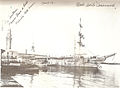 Kindergarten ship Caracciolo in Naples port (Molo Beverello) - 1923.jpg