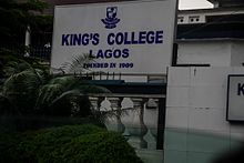 King's College, Lagos - Wikipedia
