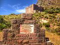 King's blockhouse and sign.JPG
