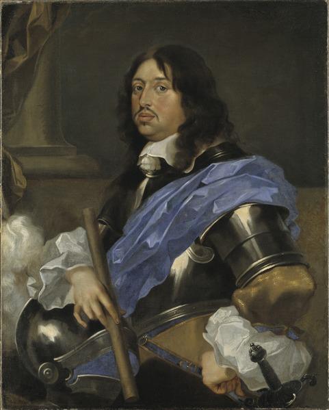 King Charles X Gustavus (Sébastien Bourdon) - Nationalmuseum - 19702
