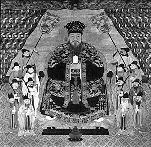 Shō Boku - A painting of Shō Boku by Sho Genko