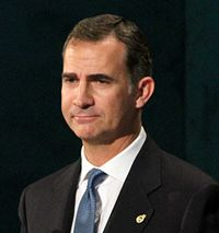Felipe VI of Spain King of Spain 2015 (cropped).JPG
