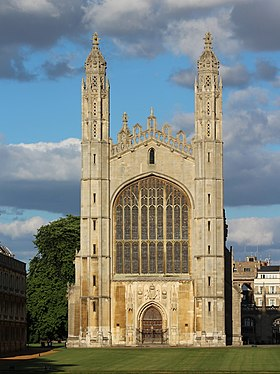 Kings College Cambridge Chapel from the river.jpg