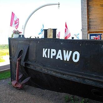 MV Kipawo - Image: Kipawo Bow 2011