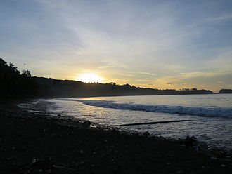 Makira - Image: Kirakira Beach at Sunset