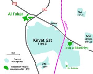 Iraq al-Manshiyya - Historical setting of Iraq al-Manshiyya