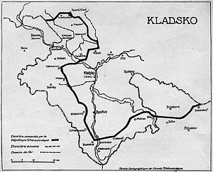 County of Kladsko - Image: Kladsko 1919 C