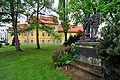 Klagenfurt Maira Theresia Park kuk Infanterieregiment 7 Khevenhueller Truppenspital 30042009 82.jpg
