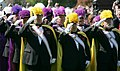 Knights of Columbus salute during the welcoming ceremony for Pope Benedict XVI.jpg