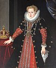 Kober, Martin - Portrait of Anna of Austria, Queen of Poland.JPG