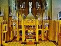 Koekelberg Basilique Nationale Sacré-Coeur Innen Lettner 1.jpg