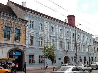 Transylvanian Diet - Reduta Palace in Cluj-Napoca, the building where the Diet of Transylvania functioned after 1790