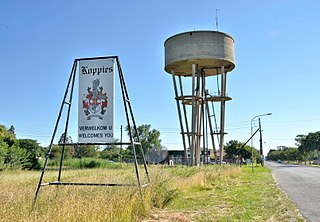 Koppies Place in Free State, South Africa