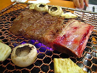 Korean barbecue - Image: Korean.food Galbi 03