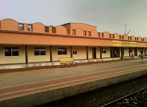 Vizianagaram district - Kottavalasa Train Station, an important Junction in Vizianagaram district