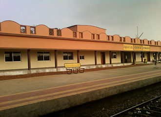 Vizianagaram district - Kottavalasa Train Station, an important Junction in Vizianagaram district