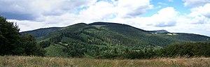 Kozubová - Kozubová seen from Malá Kykula (Mała Kikula)