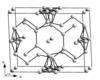 A γ-Ga kristályrácsa