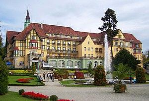 Kudowa-Zdrój - Sanatorium Polonia