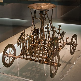 Ancient Celtic religion - The Strettweg Cult Wagon, c. 600 BC