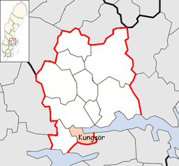 Kungsör Municipality in Västmanland County2.png