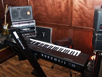 Kurzweil Music Systems - PC88  on stage