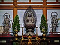 Kyoto Daigo-ji Kondo (Haupthalle) Innen Altar 3.jpg