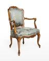 Länstol, 1700-talets mitt - Hallwylska museet - 110077.tif