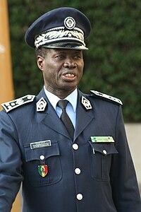 Senegalesisk polisöverintendent. 48f54d588b234