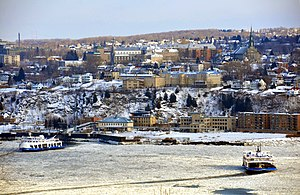 Lévis, Quebec - Lévis in winter