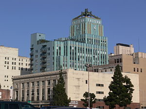 Historic Core, Los Angeles - The Eastern Columbia Building: the Entrance to the Historic Core and the Jewel of Downtown