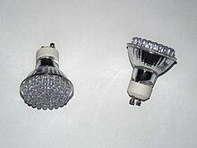 Lampada Alogena Tubolare E14 : Lampada a led wikipedia