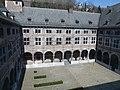 LIEGE Cloître de l'ancien couvent des Frères Mineurs - rue Moray (5-2013).JPG
