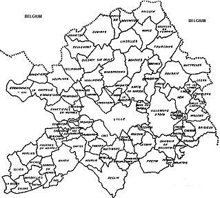 Métropole Européenne de Lille Métropole in Hauts-de-France, France