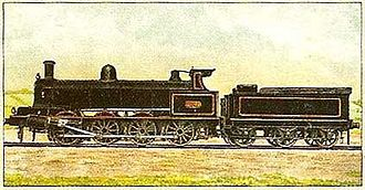 The Railway Magazine - Colour frontispiece from the June 1903 Railway Magazine: No. 1881 of the London and North Western Railway, a Webb 0-8-0 four cylinder compound.
