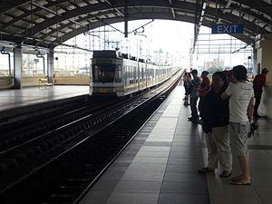 Balintawak LRT station - Balintawak station