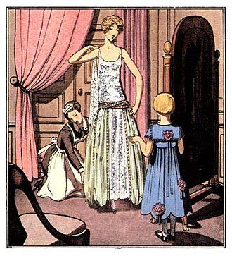 "Jeanne Lanvin - Designs by Mme Lanvin in ""La Gazette du Bon Ton"", 1922"