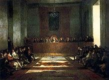 La Giunta delle Filippine, di Francisco Goya (1815)