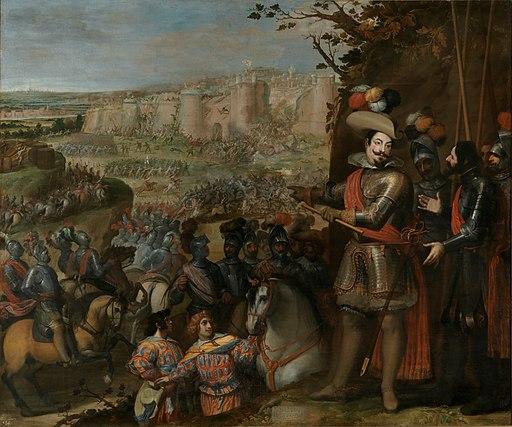 La expugnacion de Rheinfelden por Vicente Carducho