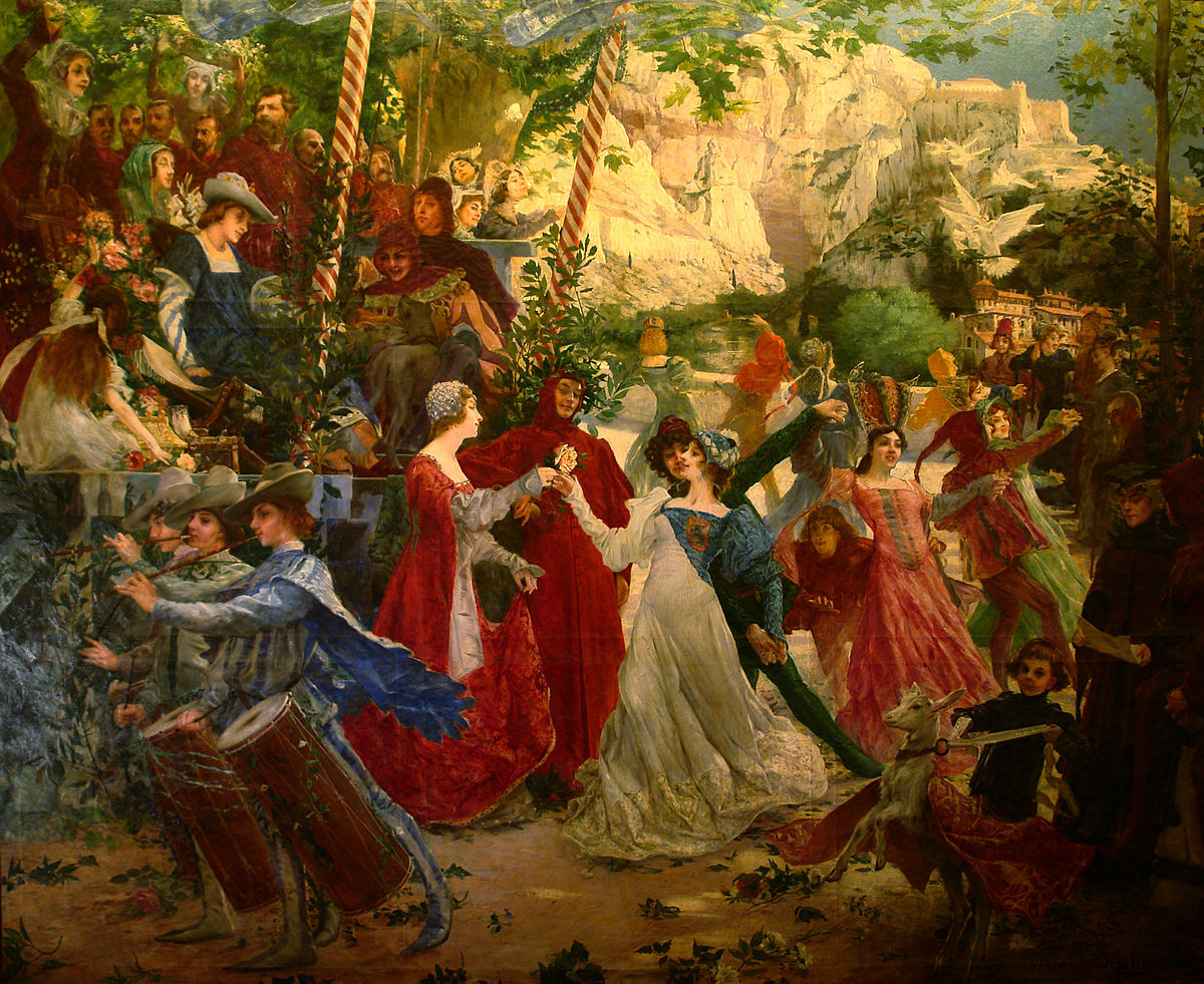 Medeltidens dans wikipedia for Dans 4