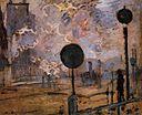 La gare Saint-Lazare, Les signaux 1877 Claude Monet.jpg