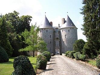 René de Chambrun - The Château de la Grange-Bléneau in 2008.