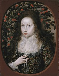 Robert Peake the elder: Lady Anne Pope