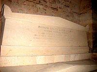 Lagrange's tomb at the Pantheon.jpg