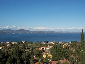 Monti Sabatini - Lake Bracciano.