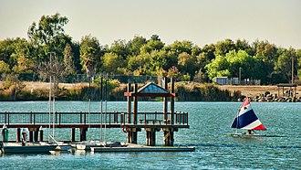 Evergreen, San Jose - Lake Cunningham.