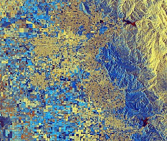 Sentinel-1 - Image: Lake Success, California ESA373671
