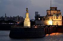 Lakhota Tower in evening by Rangilo.JPG