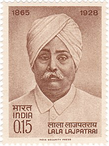 Lala Lajpat Rai 1965 stamp of India.jpg