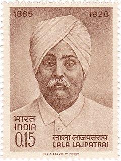 Lala Lajpat Rai Indian author and politician